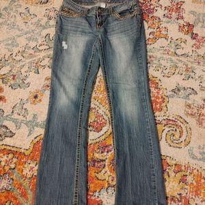 Maurice's 5/6 reg blue jeans